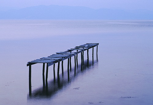 The Sea : Broken Pier, Thassos